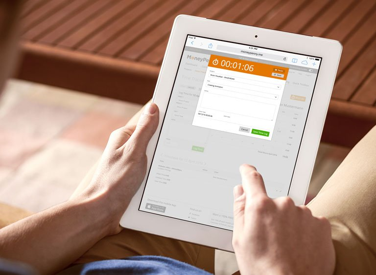 Time Tracking on-the-go | MoneyPenny