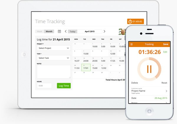 Online invoicing software for smartphone and tablet