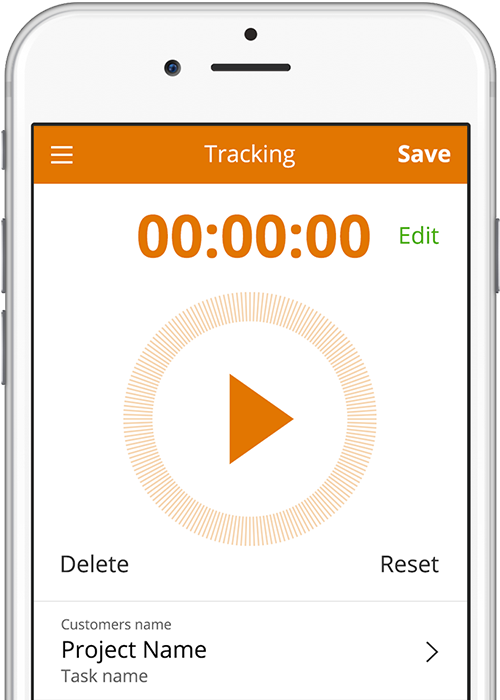 Live time tracking
