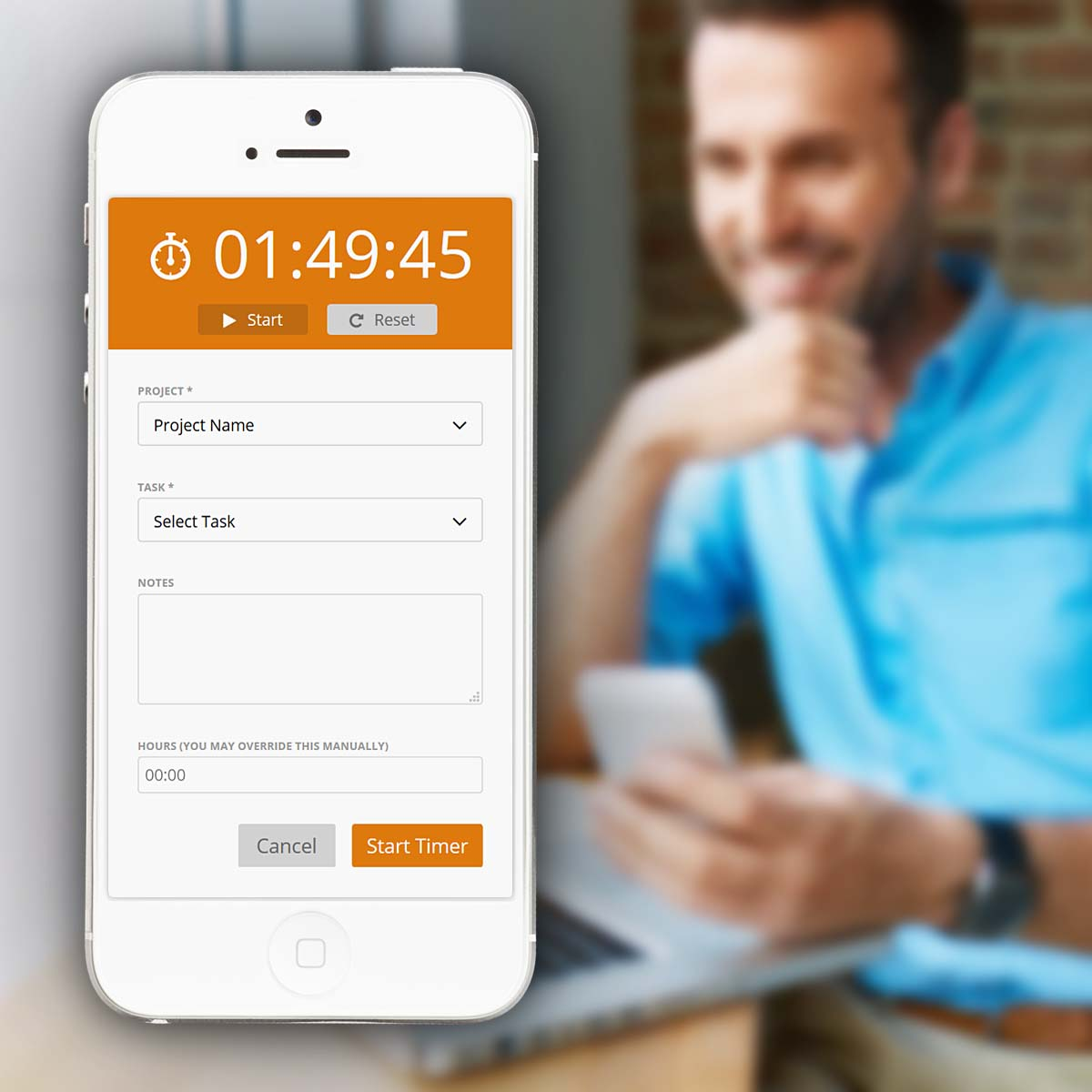 Freelancer and time tracking software